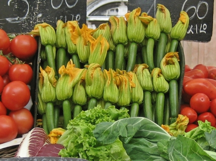 #A to Z: ZucchiniBlossoms