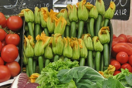 #A to Z: Zucchini Blossoms