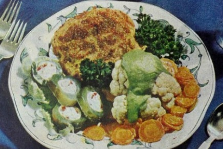 Utterly unappetizing food: 1948