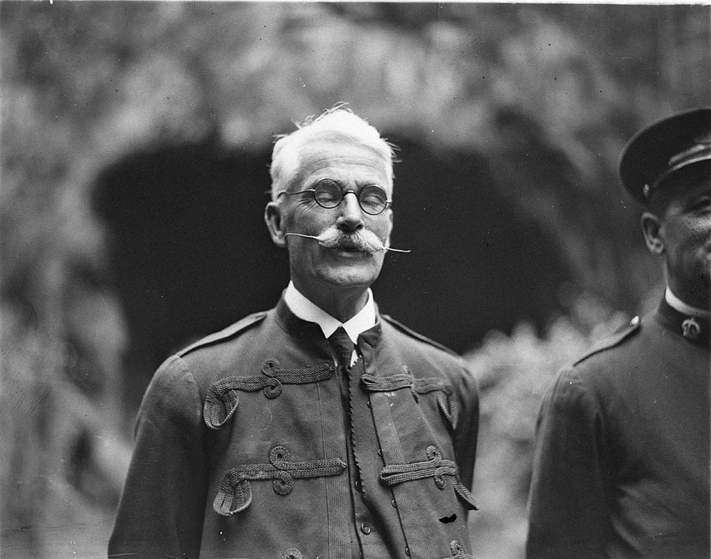"James Carvosso (""Voss"") Wiburd, superintendent of Jenolan Caves, 1929"